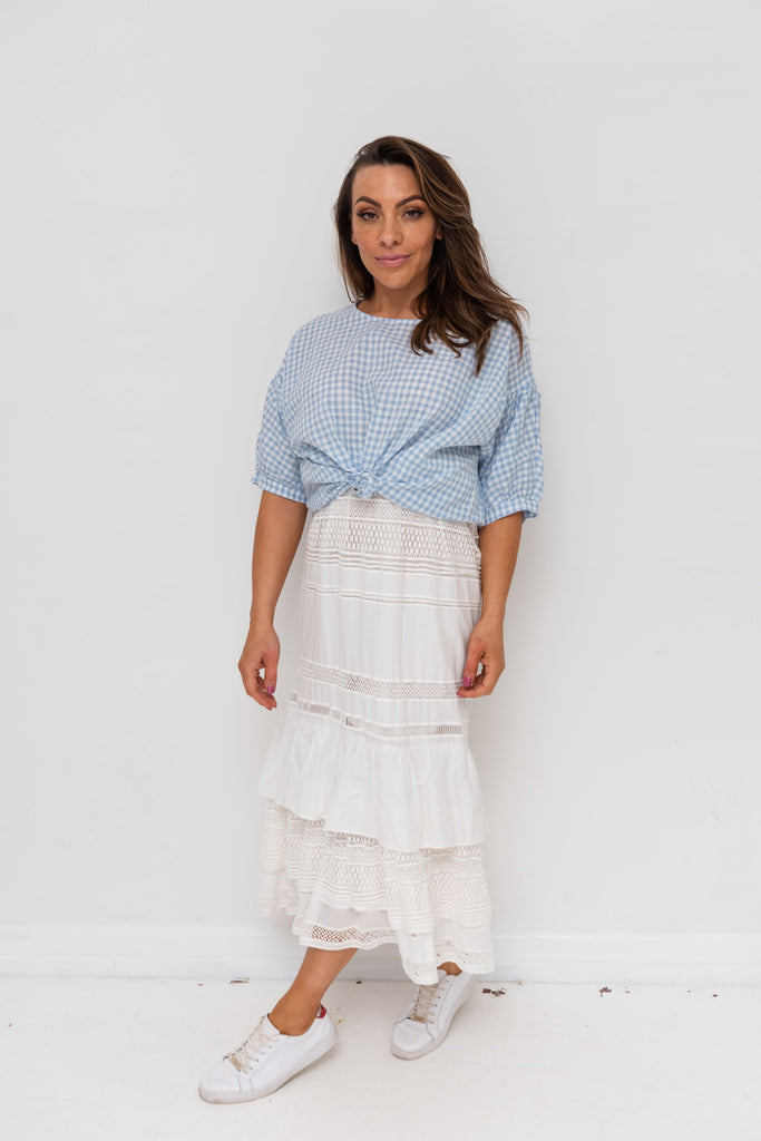 HATTIE SKIRT / DRESS - Cloud
