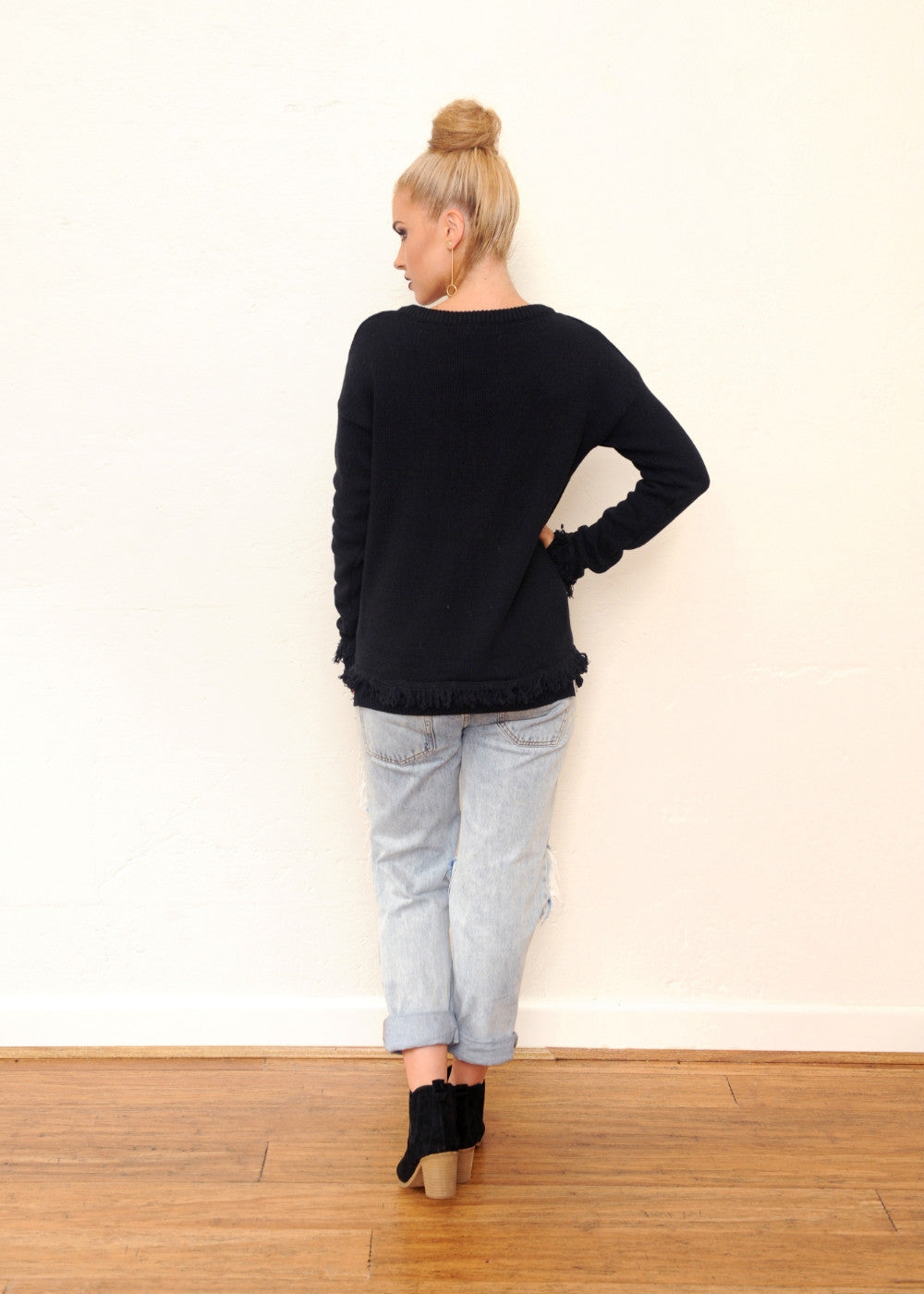 Pine Jumper - Black