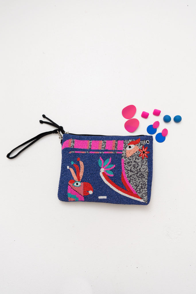 Macaw Clutch - Bright