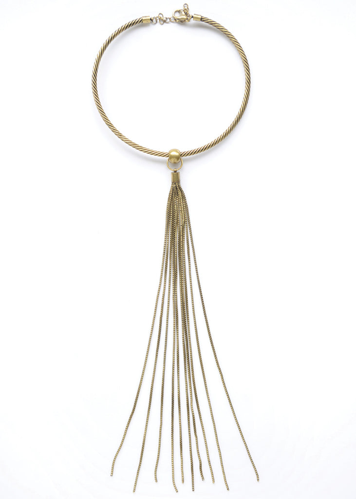 Me, Myself & I Necklace - Gold