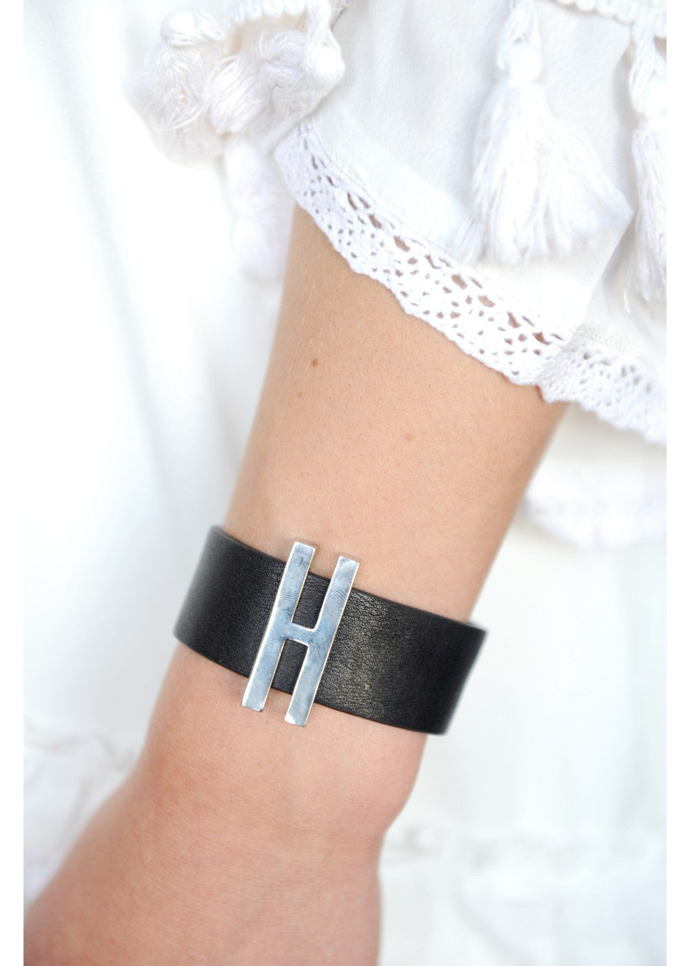 Rock It Leather Wrist Wrap
