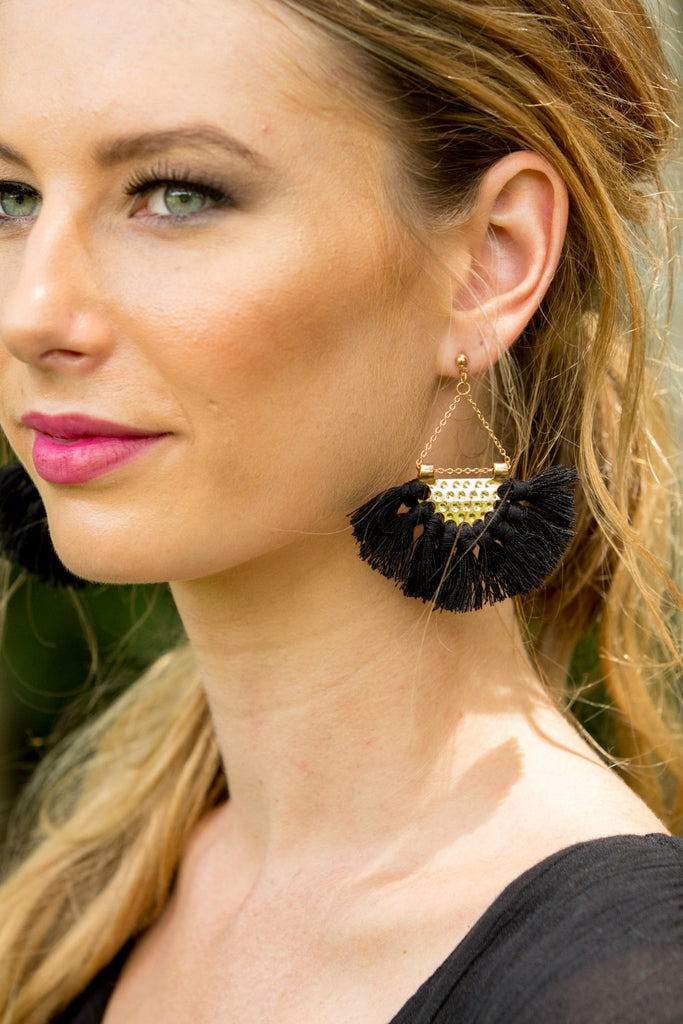 Kaia Earring - Black