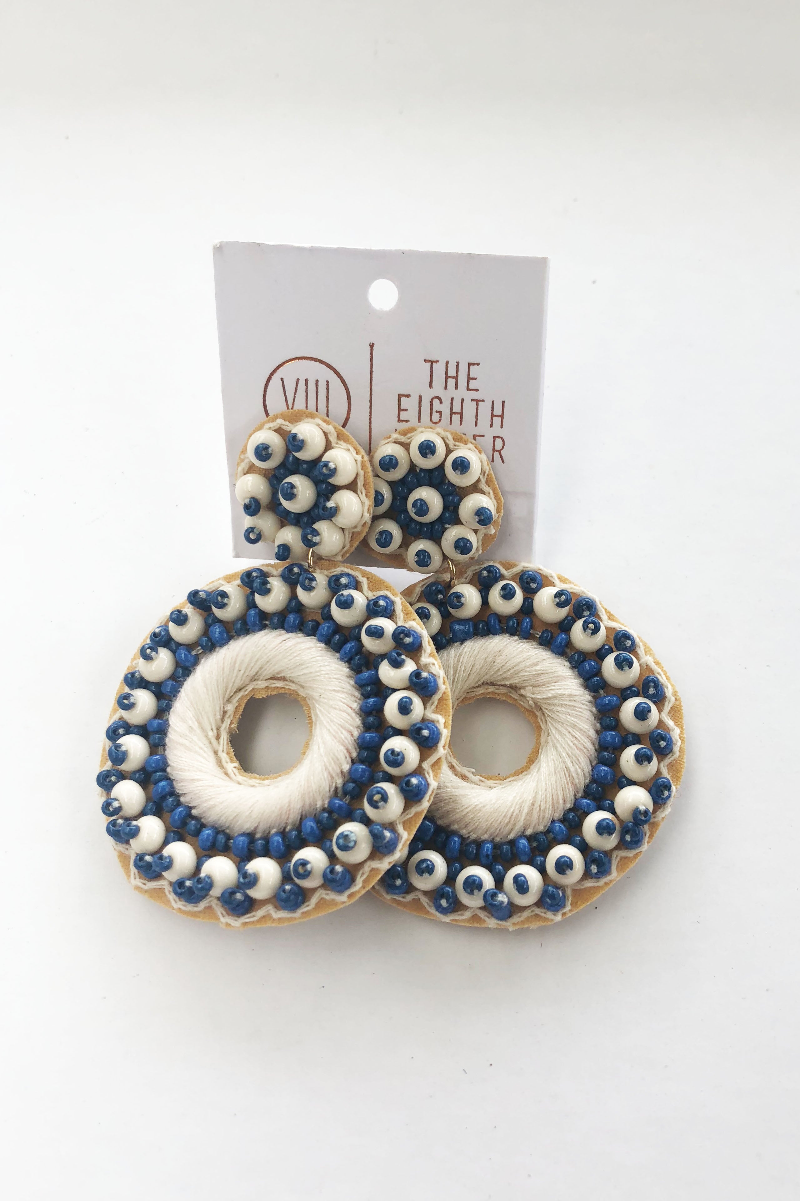 Reed Earring - Denim