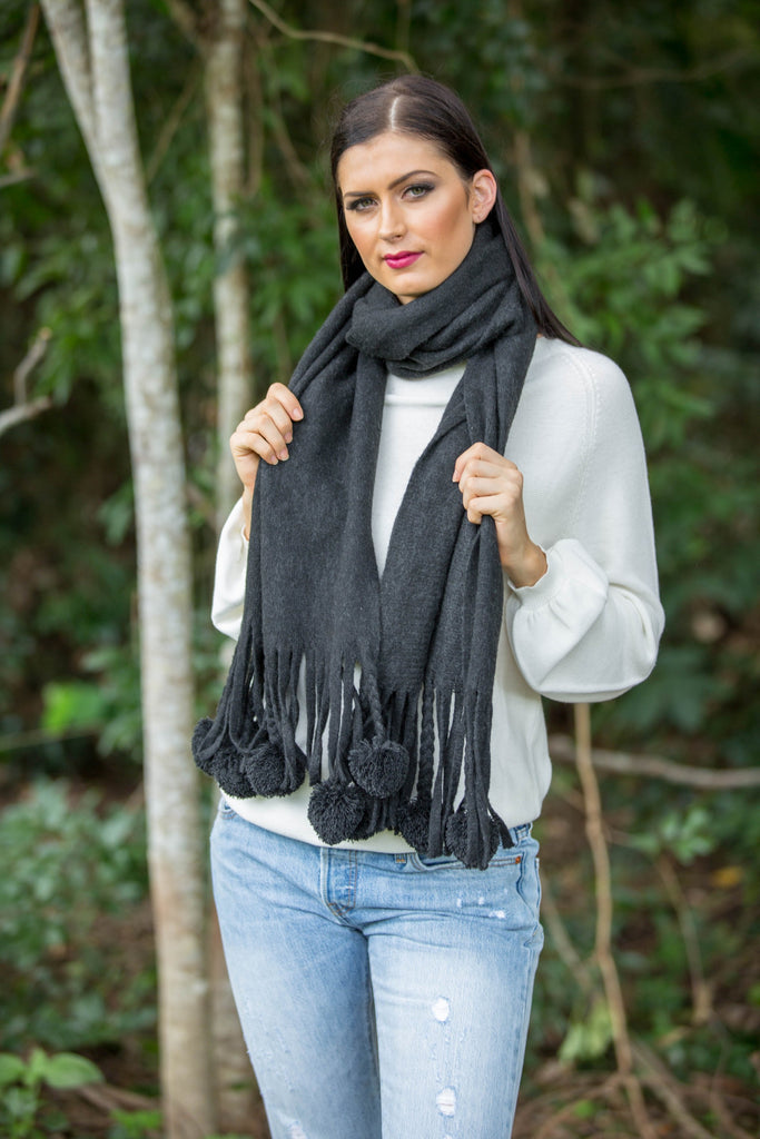 Nest Scarf - Black