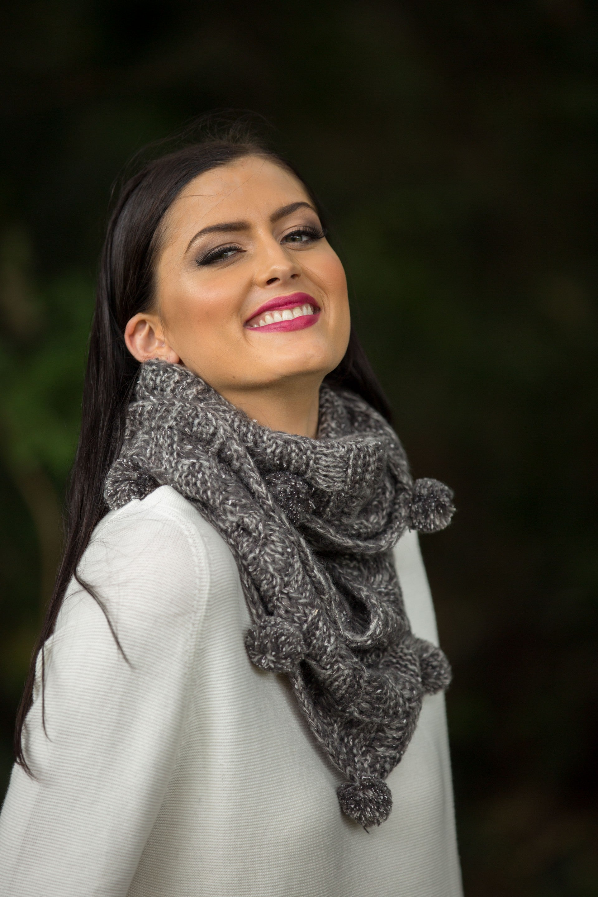 Cobble Snood - Pewter