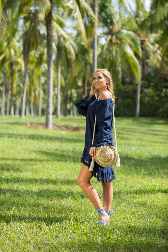 COAST TOP / DRESS - NAVY