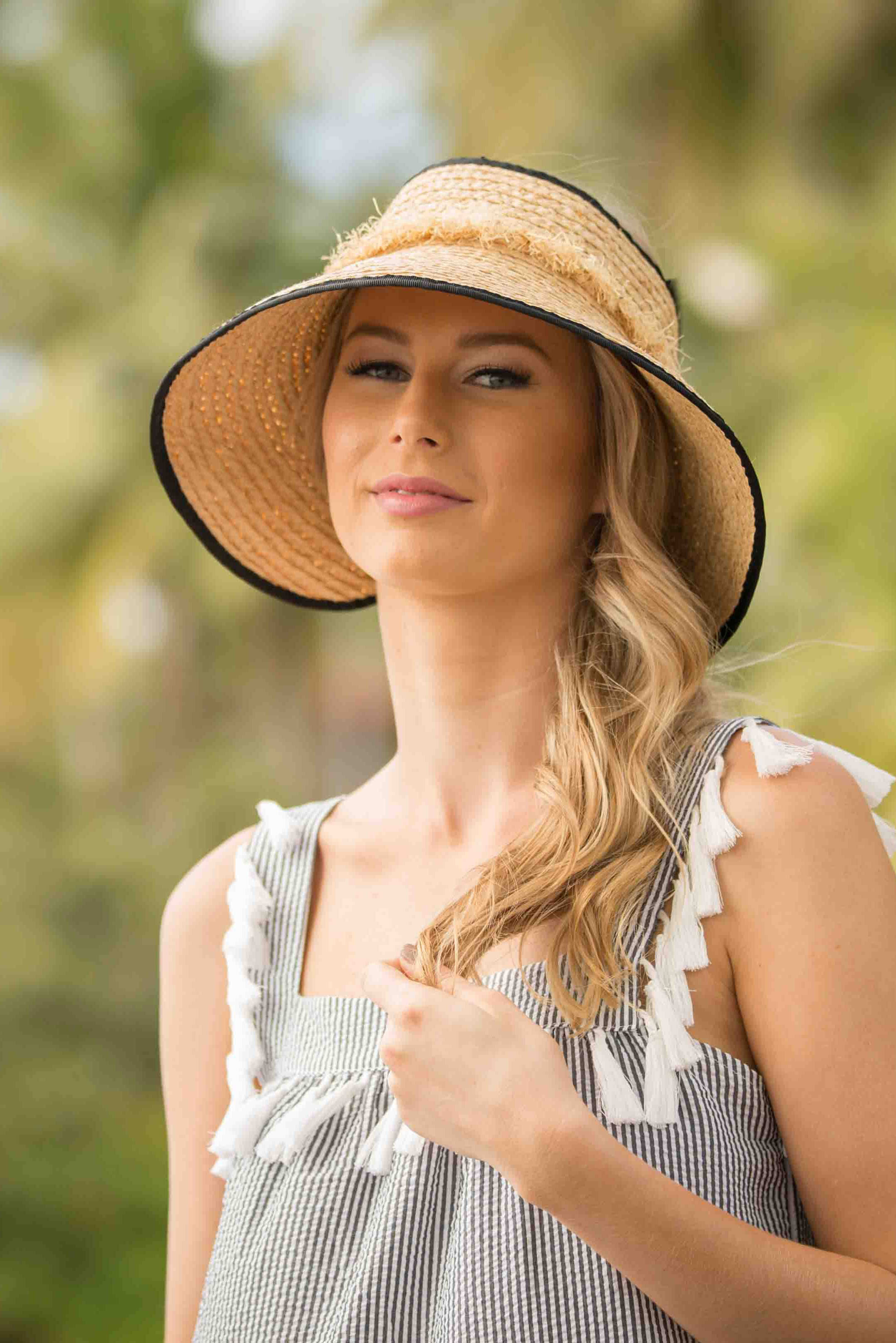 Poppy Sun Hat - Natural