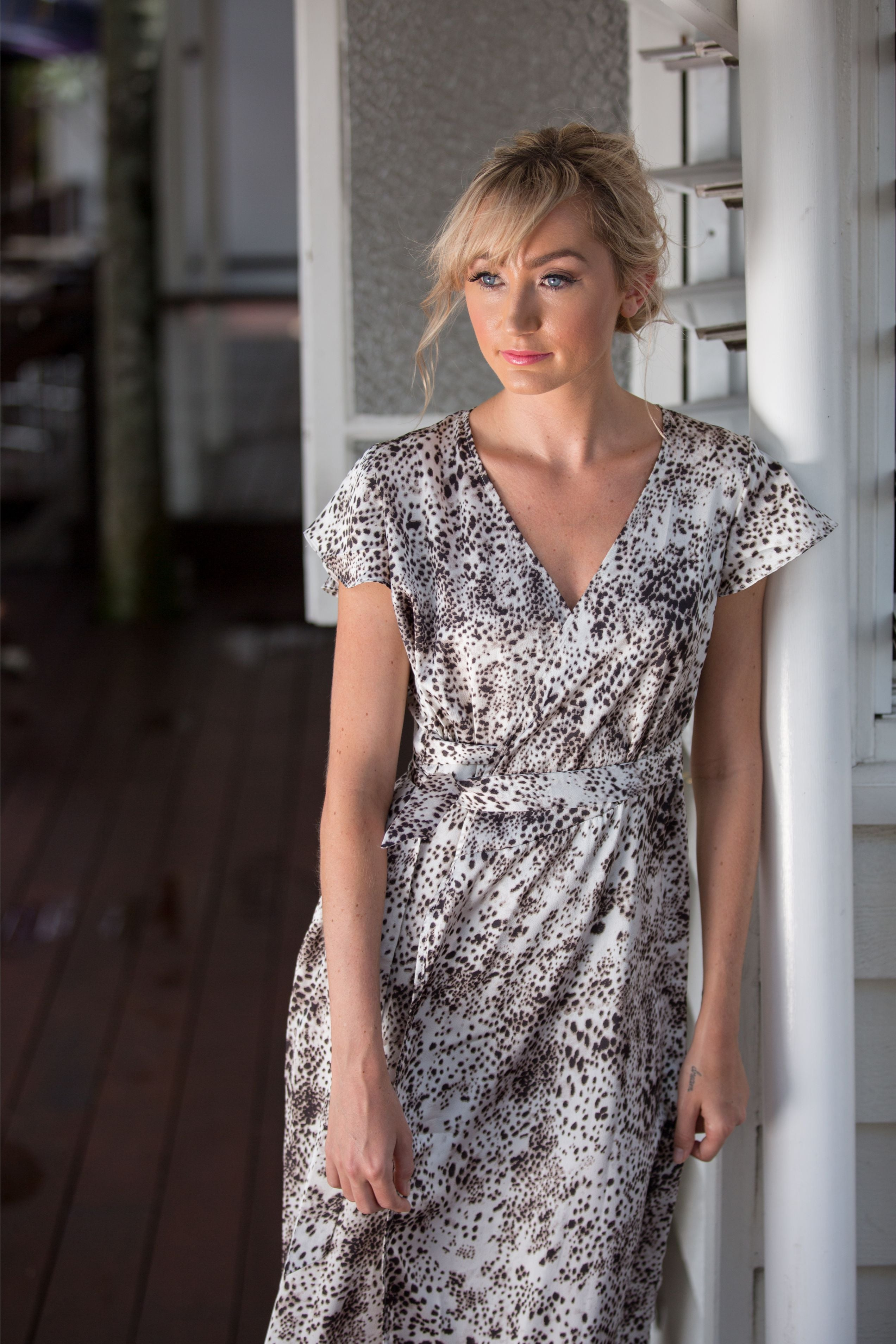 FLORENCE WRAP DRESS- Wilde