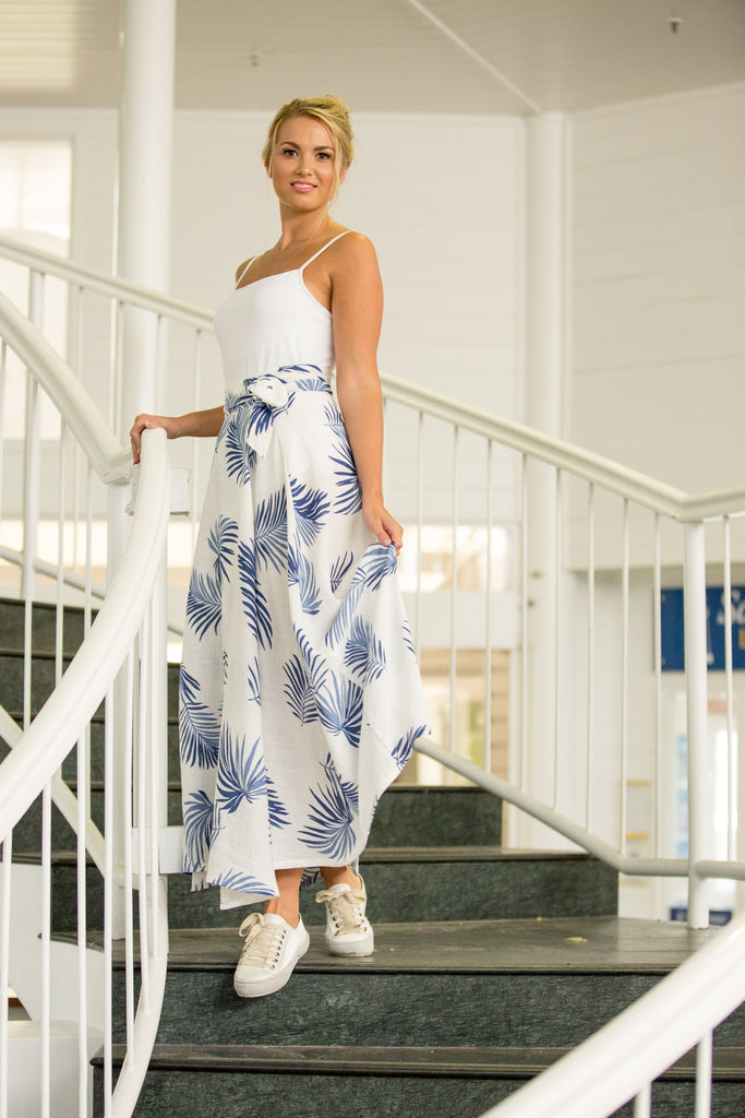 WILLOW WRAP SKIRT- Coastal Fern