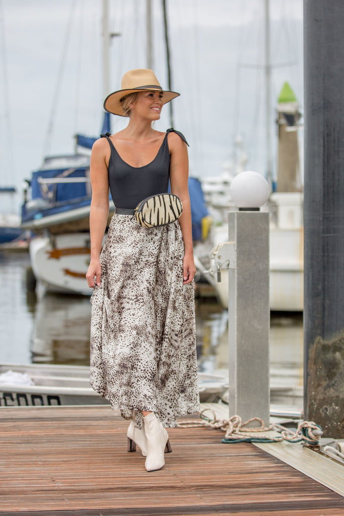 WILLOW WRAP SKIRT- Wilde