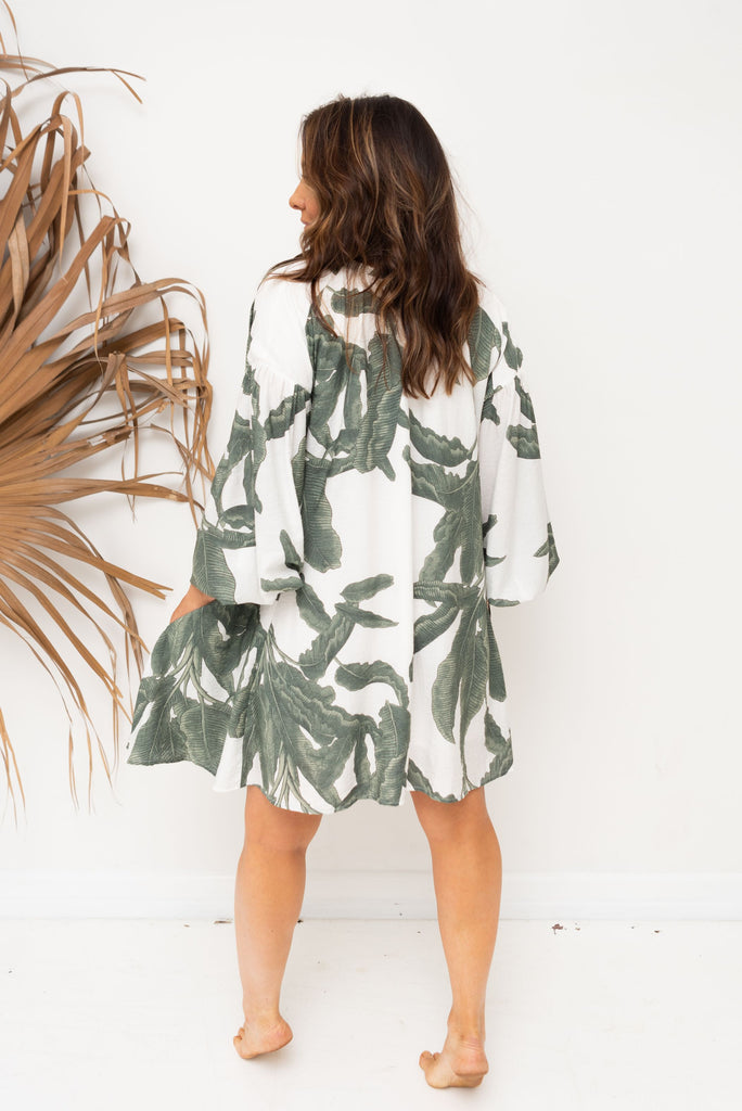 ALBA SHIRT / DRESS - Lush Print