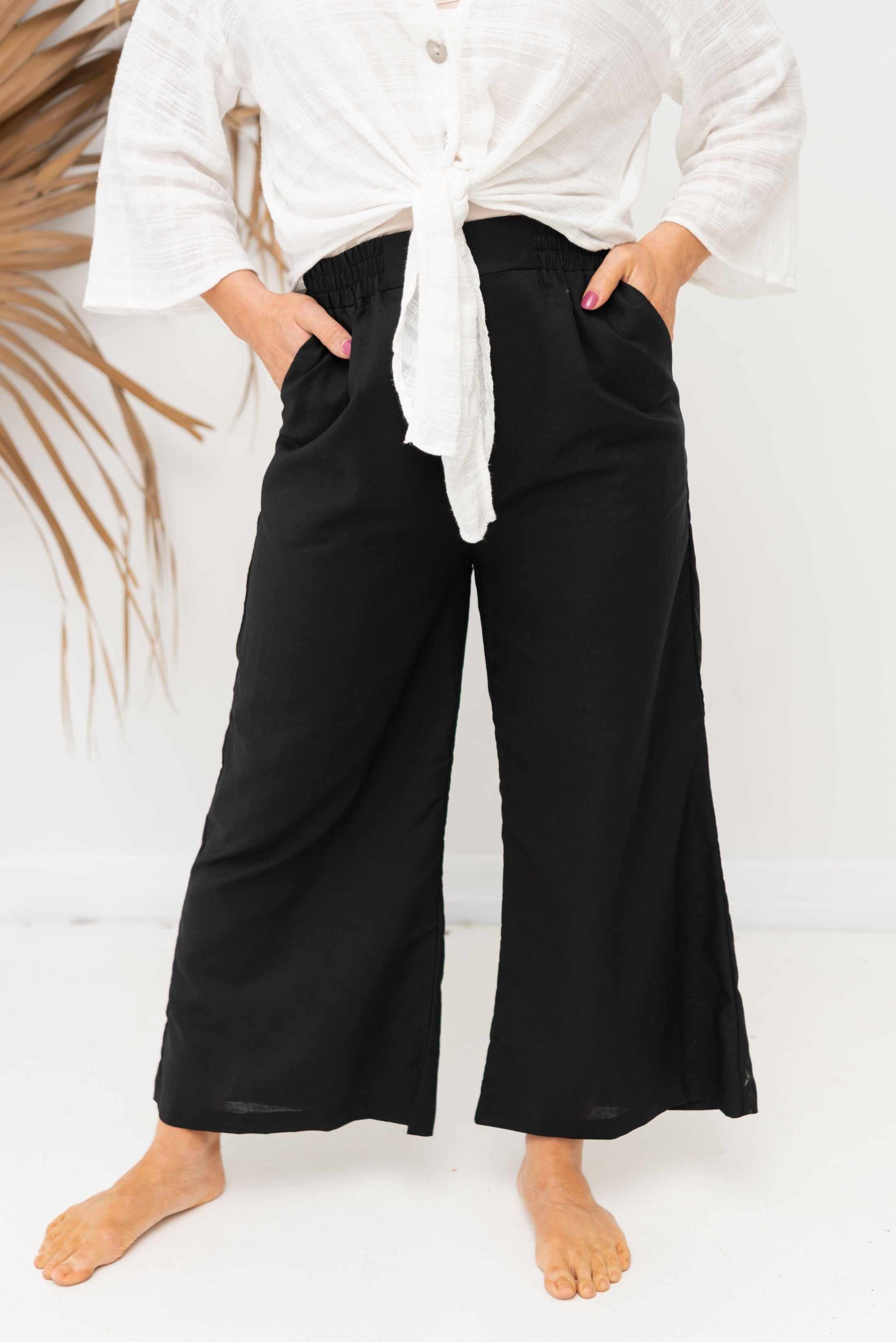 ARABELLA PANT - Black