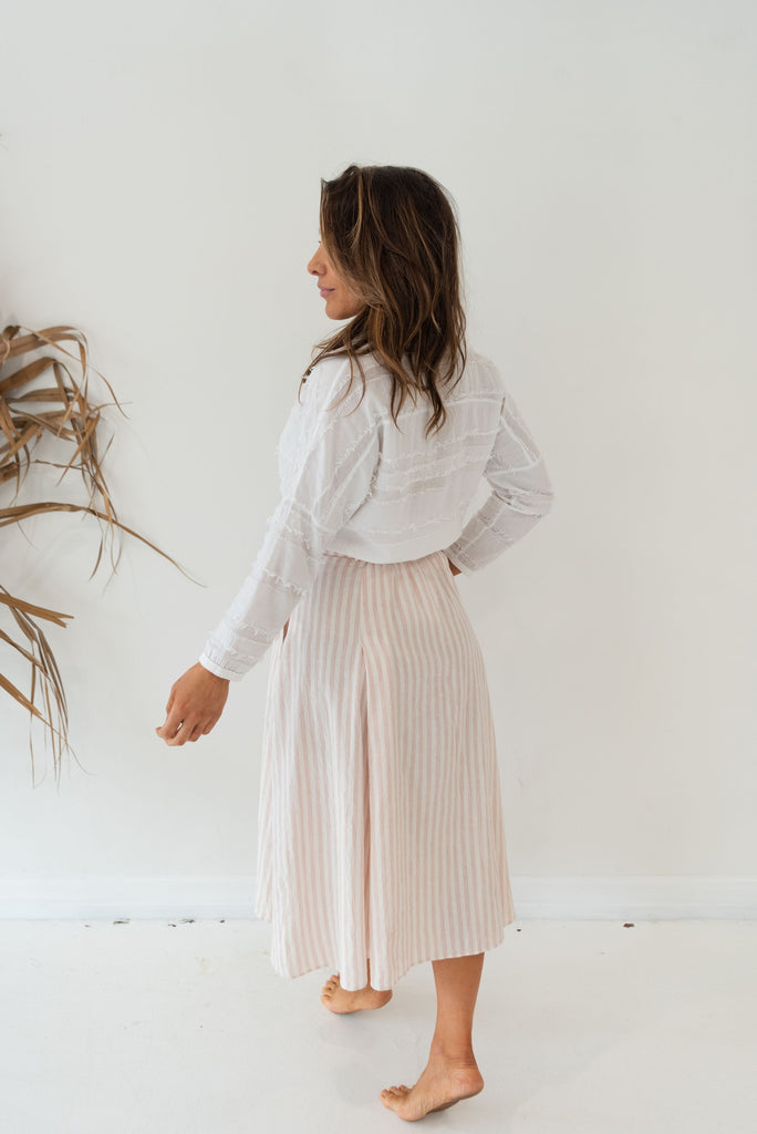 BIM SKIRT - Rita Rose Stripe