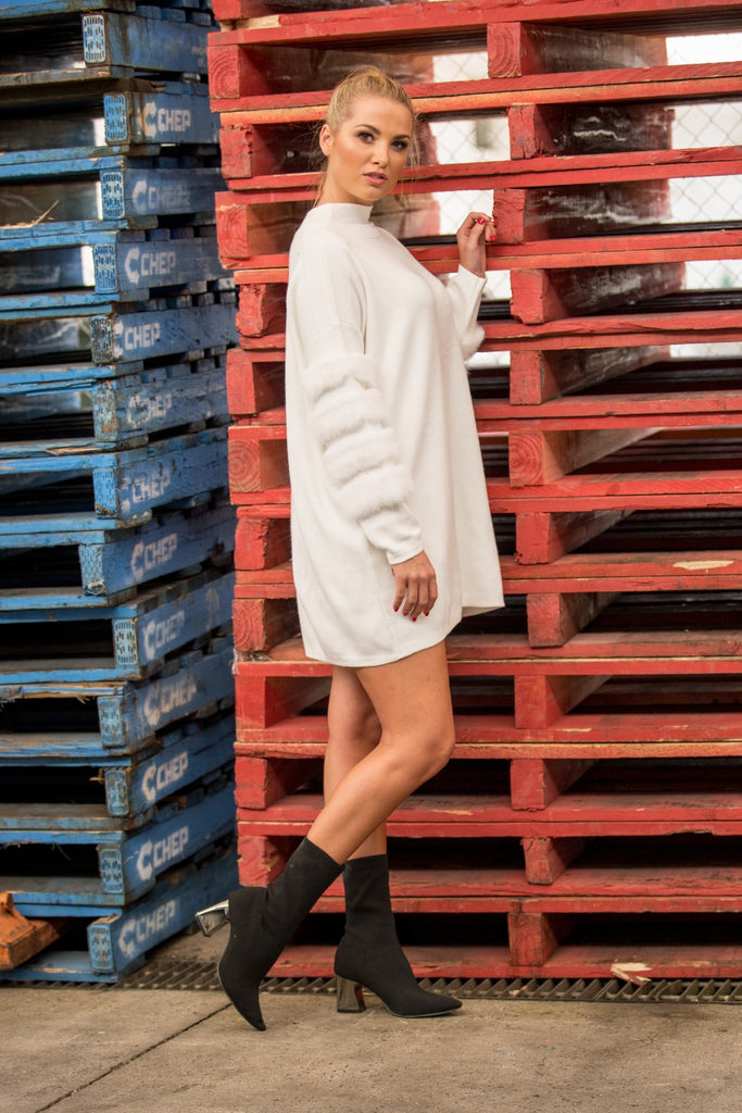 EDGAR JUMPER / DRESS - White