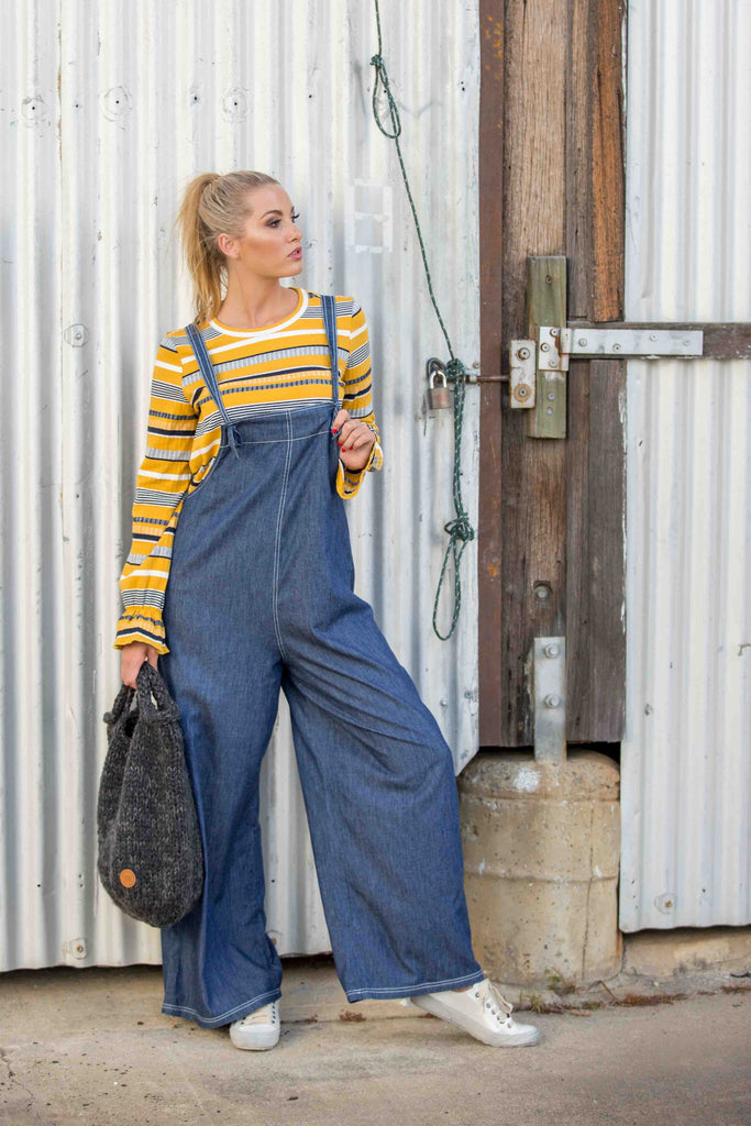 CLARENCE OVERALL - Denim