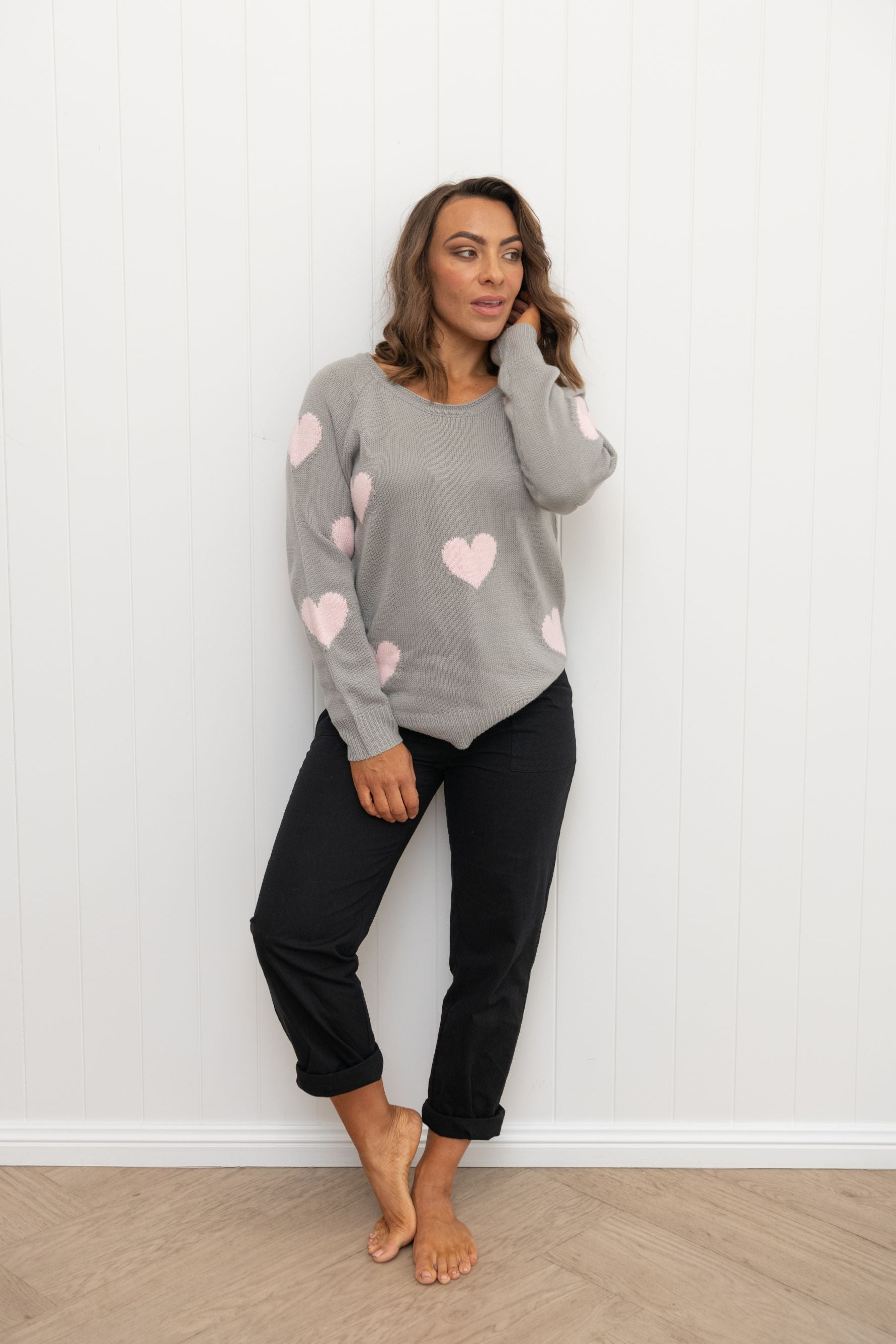 Much Love Jumper Monument / Floss Hearts