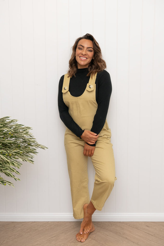 Banjo Jumpsuit Wheat