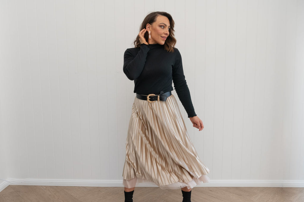 Toto Skirt Wheat - PRE-ORDER AVAILABLE