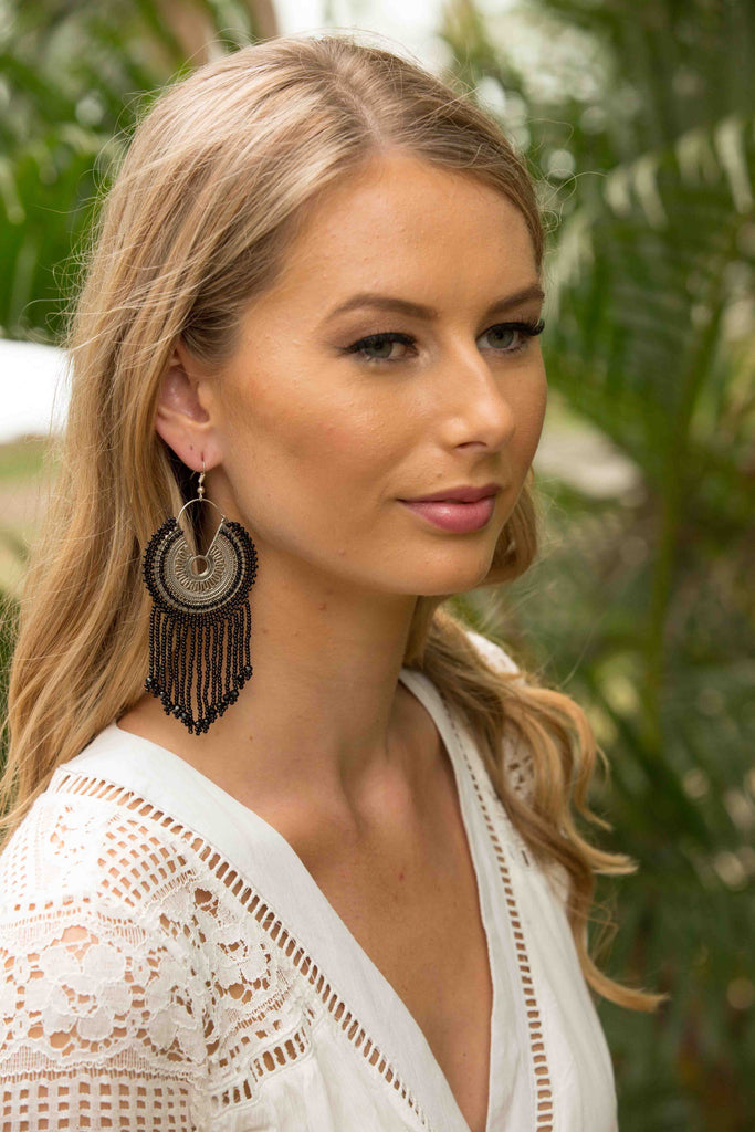 Zimba Earring - Black