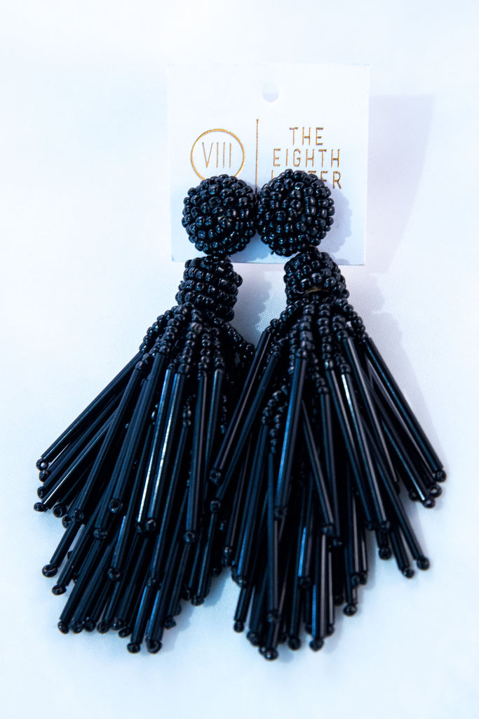 Bexley Earring - Black