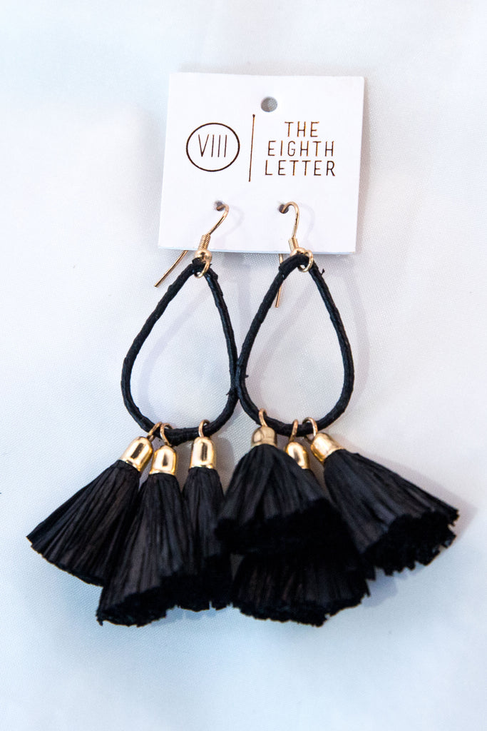 Britta Earring - Black
