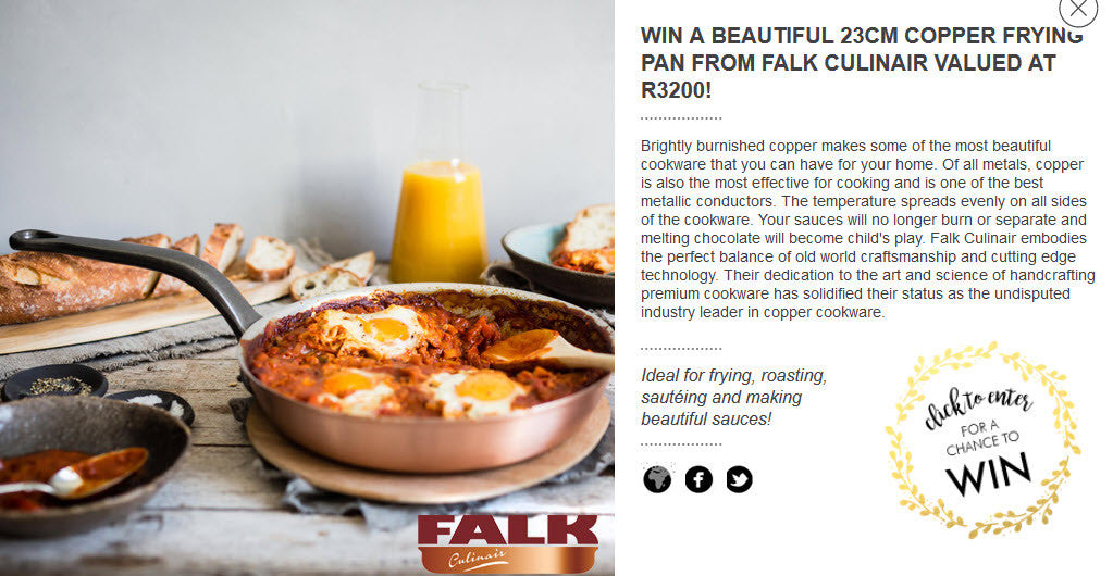 Win with Falk and Crush Magazine