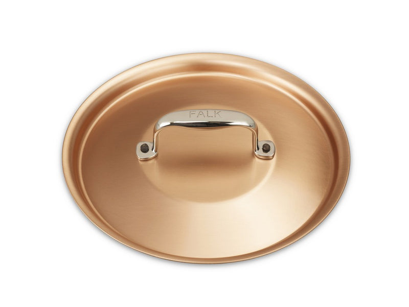 18cm Falk Copper Lid - Signature Range - Falk Culinair South Africa
