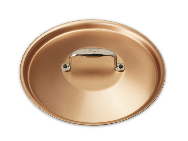 20cm Falk Copper Lid - Signature Range - Falk Culinair South Africa