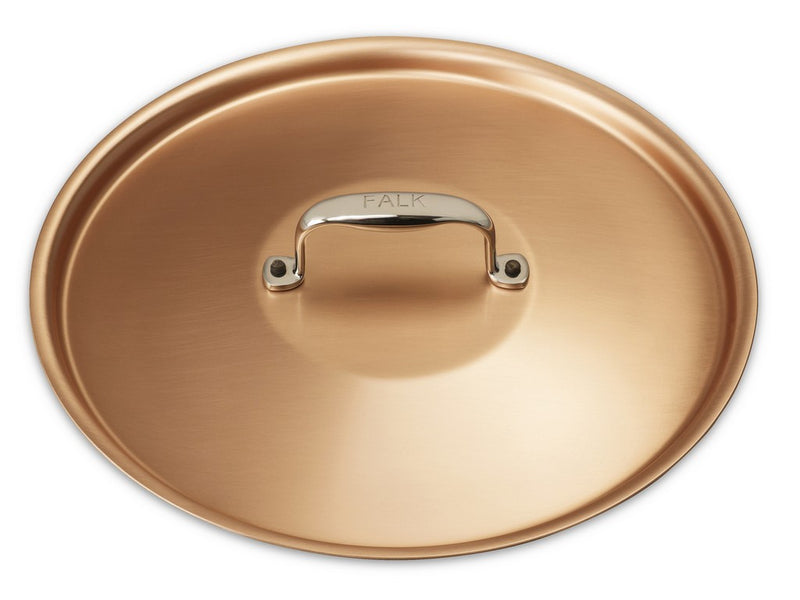 24cm Falk Copper Lid - Signature Range - Falk Culinair South Africa