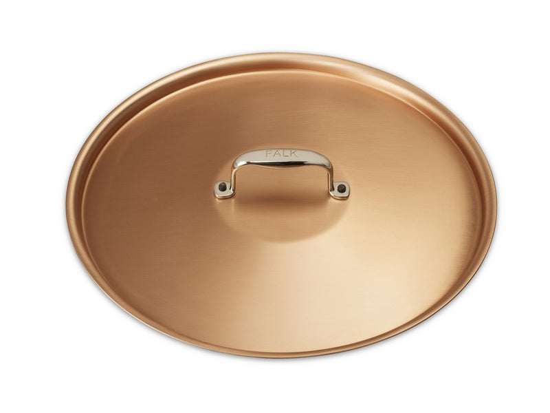 28cm Falk Copper Lid - Signature Range - Falk Culinair South Africa