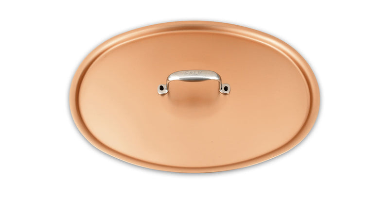 30 x 20cm Falk Copper Lid - Signature Range - Falk Culinair South Africa