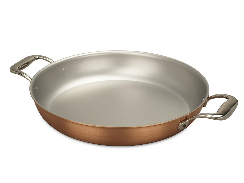 Falk Culinair South Africa - 32cm Falk Copper Round Gratin Pan - Signature Range - 1