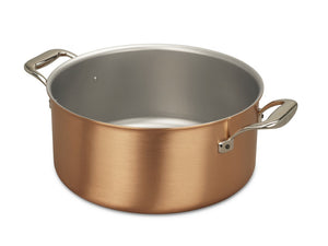 20cm Falk Copper Casserole - Signature Range - Falk Culinair South Africa