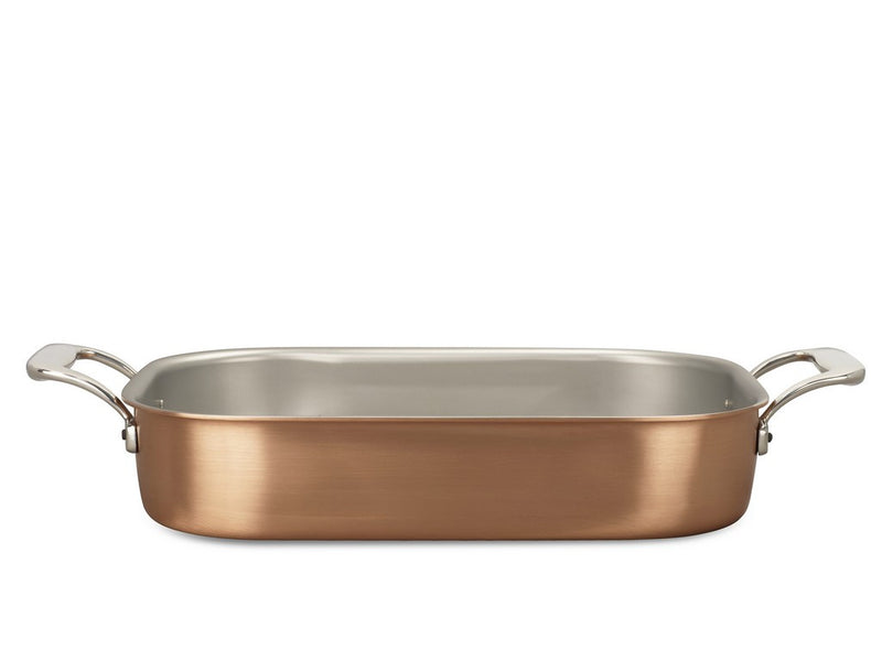 35 x 23cm Falk Copper Roasting Pan - Signature Range - Falk Culinair South Africa