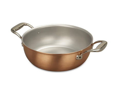 Falk Culinair South Africa - 24cm Falk Copper Stew Pan - Signature Range - 1