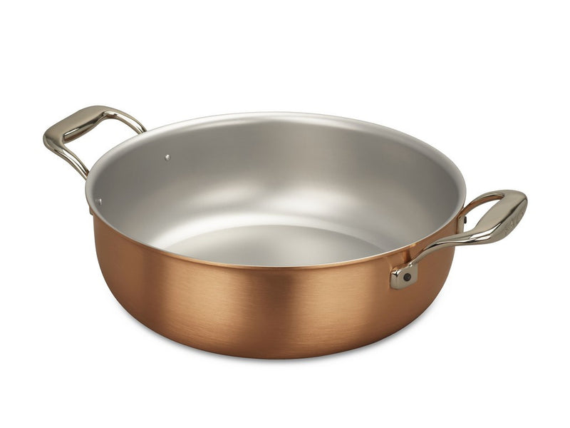 28cm Falk Copper Stew Pan - Signature Range - Falk Culinair South Africa