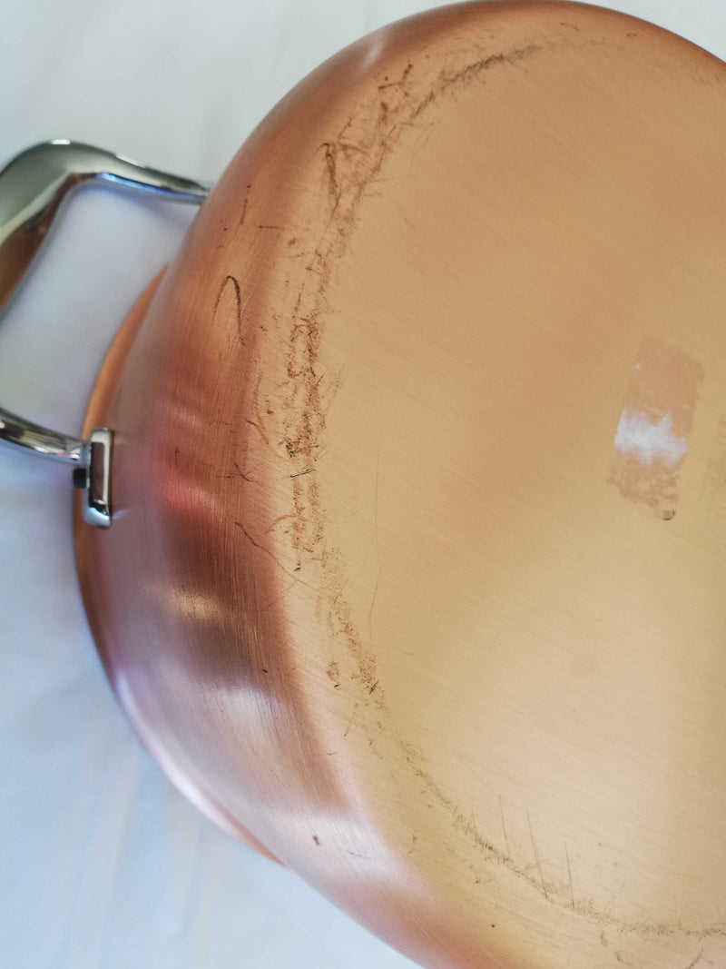 24cm Falk Copper Casserole - Signature Range:  Ex-Display - Falk Culinair South Africa