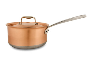 20cm Falk Copper Saucepan - Induction Range - Falk Culinair South Africa
