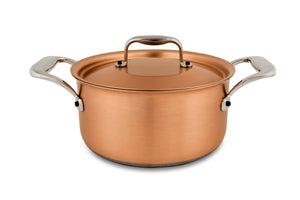 18cm Falk Copper Casserole - Induction Range - Falk Culinair South Africa