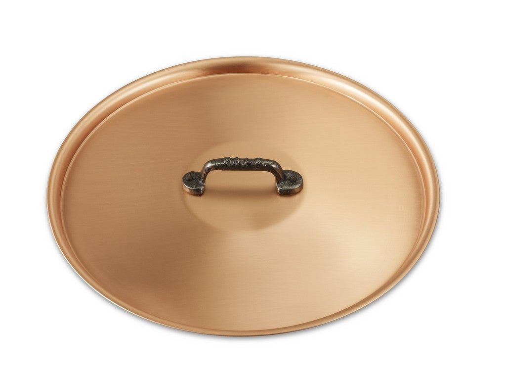 28cm Falk Copper Lid - Classical Range - Falk Culinair South Africa