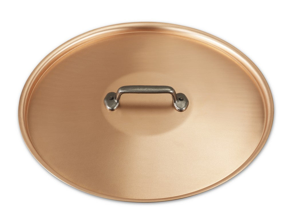 32cm Falk Copper Lid - Classical Range - Falk Culinair South Africa