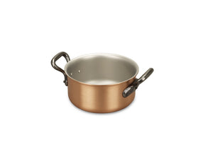16cm Falk Copper Casserole - Classical Range - Falk Culinair South Africa