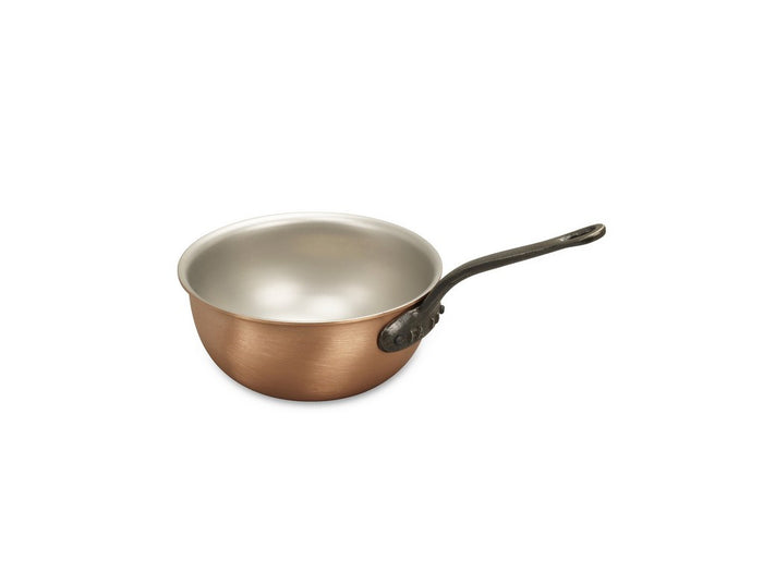 14cm Falk Copper Saucier Pan - Classical Range