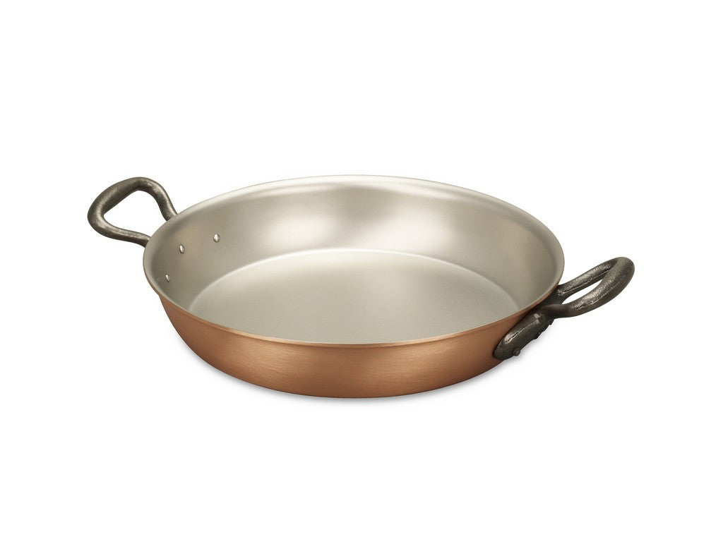 Falk Culinair South Africa - 24cm Falk Copper Round Gratin Pan - Classical Range - 1