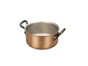 14cm Falk Copper Casserole - Classical Range - Falk Culinair South Africa