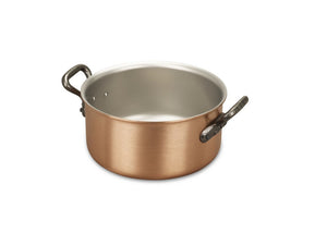 18cm Falk Copper Casserole - Classical Range - Falk Culinair South Africa