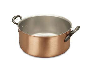 28cm Falk Copper Casserole - Classical Range - Falk Culinair South Africa