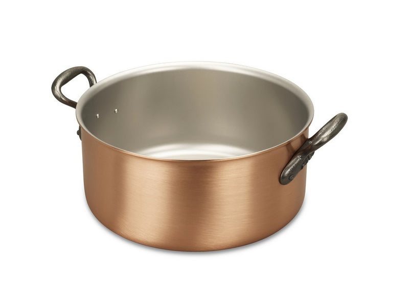 24cm Falk Copper Casserole - Classical Range - Falk Culinair South Africa
