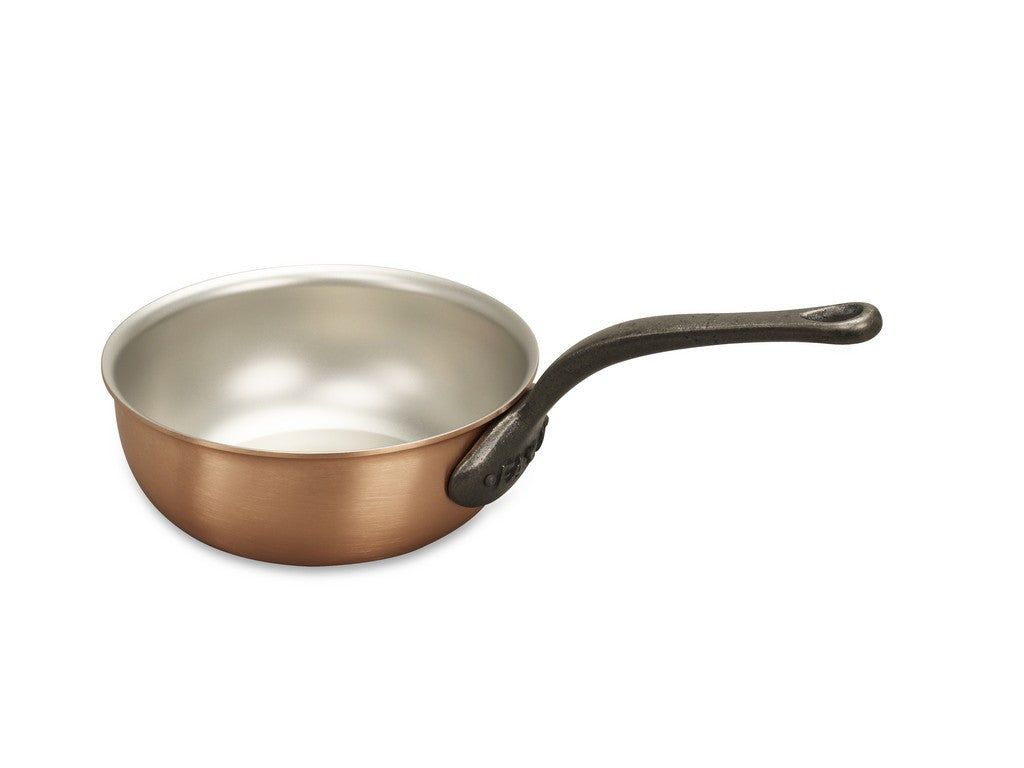 18cm Falk Copper Saucier Pan - Classical Range - Falk Culinair South Africa