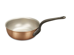 20cm Falk Copper Saucier Pan - Classical Range - Falk Culinair South Africa